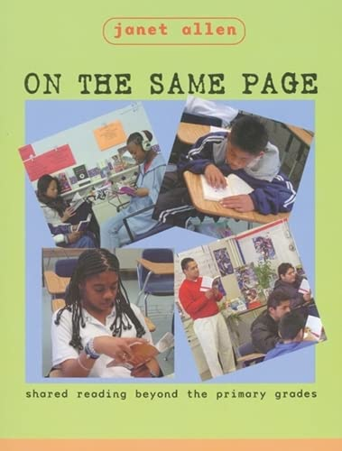 On the Same Page: Shared Reading Beyond: Janet Allen