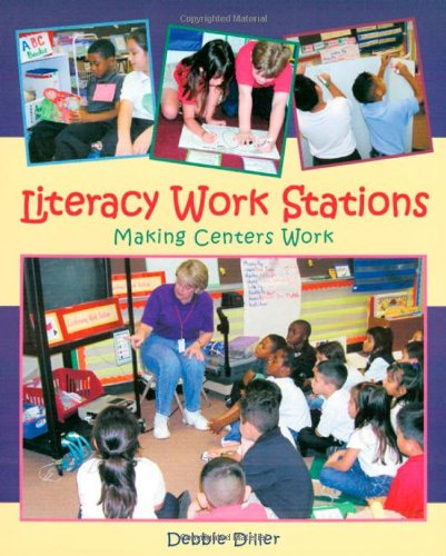 9781571103536: Literacy Work Stations: Making Centers Work