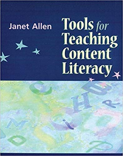 Tools for Teaching Content Literacy [Spiral-bound]