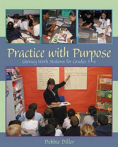 9781571103956: Practice with Purpose: Literacy Work Stations for Grades 3-6