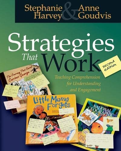 Strategies That Work: Teaching Comprehension for Understanding: Pearson Prof. Growth