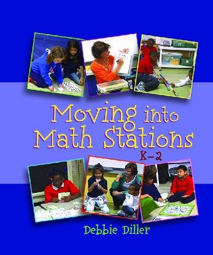9781571109620: Moving Into Math Stations
