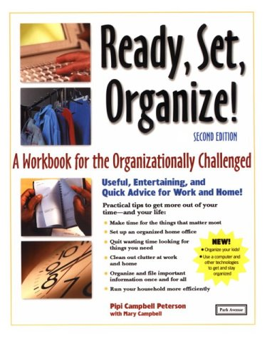 9781571121110: Ready, Set, Organize: A Workbook for the Organizationally Challenged