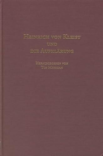 9781571130471: Heinrich von Kleist und die Aufklärung (Studies in German Literature Linguistics and Culture)