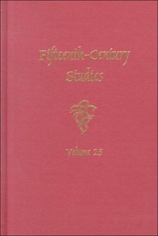 Fifteenth-Century Studies Vol. 25