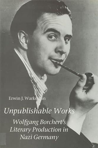 unpublished works wolfgang borcherts literary production in warkentin - Wolfgang Borchert Lebenslauf