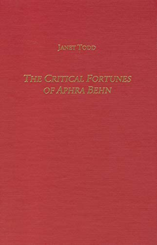 The Critical Fortunes Of Aphra Behn - Isbn:9781571131652 - image 2