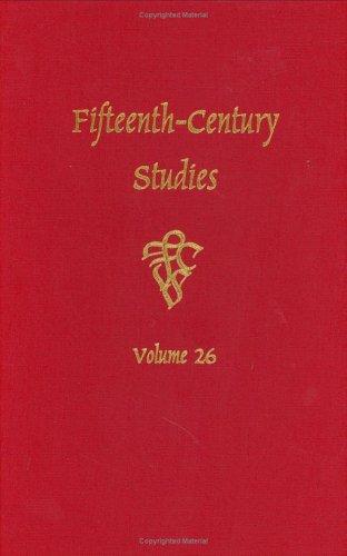 Fifteenth-Century Studies Vol. 26 (v. 26)