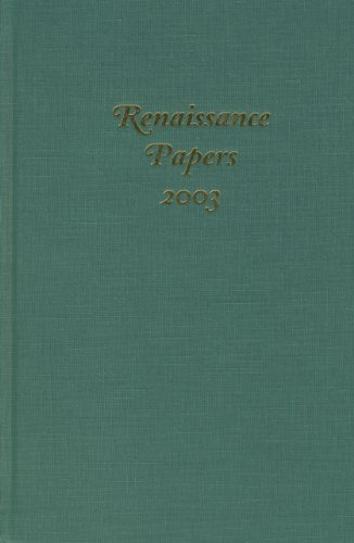 Renaissance Papers 2003: Cobb, Christopher; Hester, M. Thomas