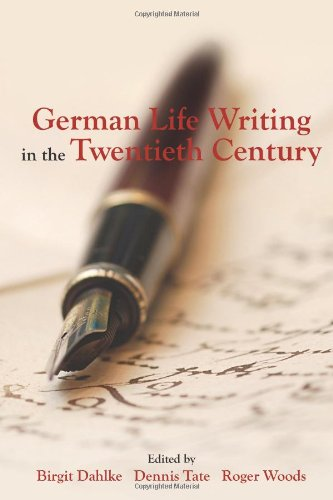 9781571133137: German Life Writing in the Twentieth Century (Studies in German Literature Linguistics and Culture)