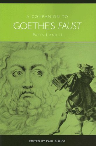 Companion to Goethe's Faust Parts I and II (Studies in German Literature Linguistics and ...