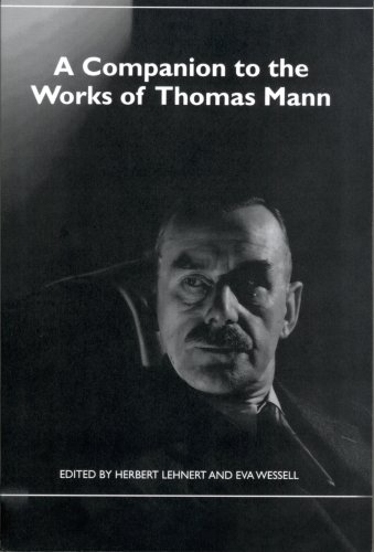 9781571134059: A Companion to the Works of Thomas Mann (34) (Studies in German Literature, Linguistics, and Culture)