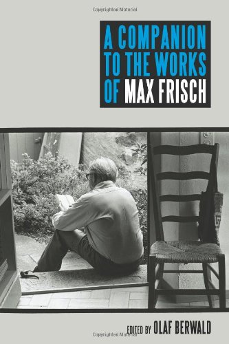 9781571134189: A Companion to the Works of Max Frisch (Studies in German Literature Linguistics and Culture)