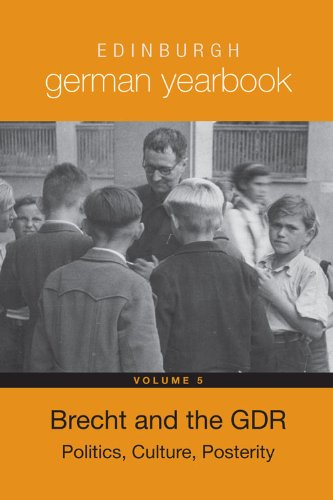 9781571134929: Edinburgh German Yearbook 5: Brecht and the Gdr: Politics, Culture, Posterity