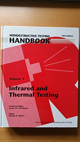 Nondestructive Testing Handbook: Infrared and Thermal Testing: Xavier P. V.