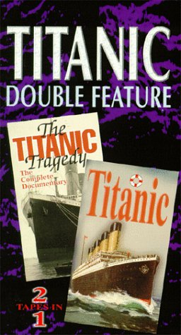 9781571196941: Titanic Double Feature [VHS]