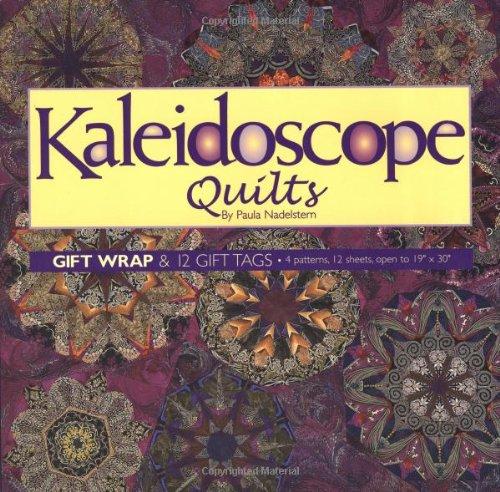 Kaleidoscope Quilts Gift Wrap: Nadelstern, Paula