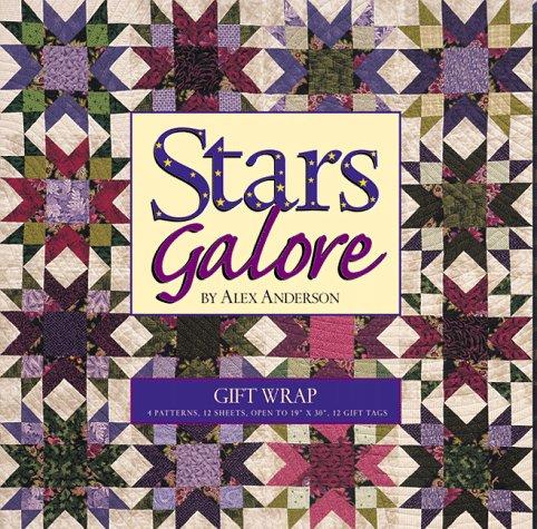 9781571200839: Stars Galore Gift Wrap