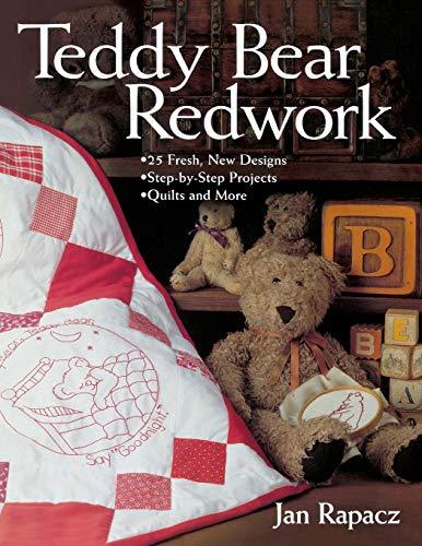 9781571202215: Teddy Bear Redwork