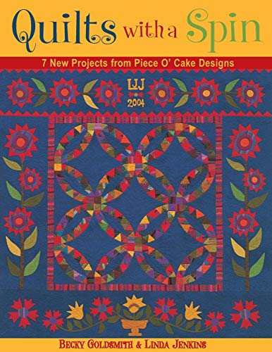 Quilts with a Spin - Print-On-Demand Edition (1571202455) by Becky Goldsmith; Linda Jenkins