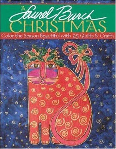 Laurel Burch Christmas - A: Color the: Burch, Laurel