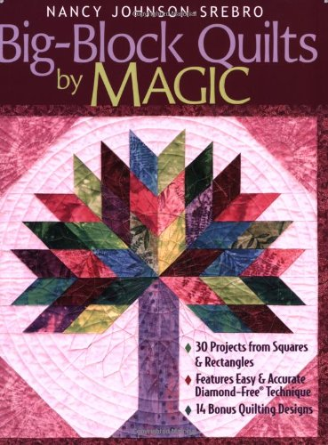 Big-Block Quilts by Magic: 30 Projects from: Johnson-Srebro, Nancy