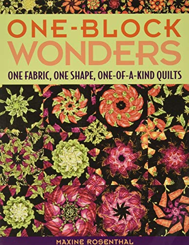 9781571203229: One-Block Wonders: One Fabric, One Shape, One-of-a-Kind Quilts