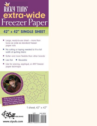 9781571206046: Ricky Tims' Extra-Wide Freezer Paper: 42