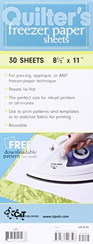 9781571206503: Quilter's Freezer Paper Sheets, 8.5