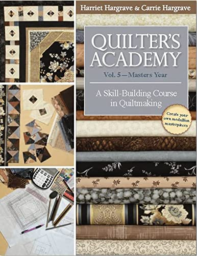 9781571207920: Quilter's Academy Vol. 5 - Masters Year: A Skill-Building Course in Quiltmaking