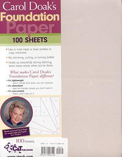9781571208149: Carol Doak's Foundation Paper