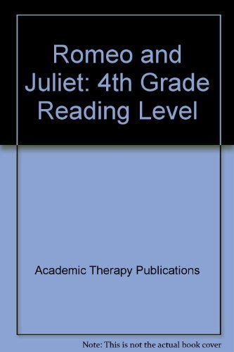 9781571281241: Romeo and Juliet: 4th Grade Reading Level