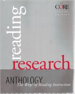 9781571282071: Reading Research Anthology : The Why? of Reading Instruction (Core Literacy Training Series)