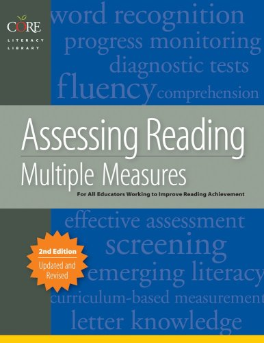 9781571284648: Assessing Reading Multiple Measures, 2nd Edition