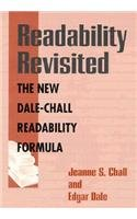 Readability Revisited : The New Dale-Chall Readability: Edgar Dale; Jeanne