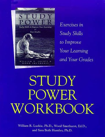 9781571290670: Study Power Workbook: Exercises in Study Skills to Improve Your Learning and Your Grades