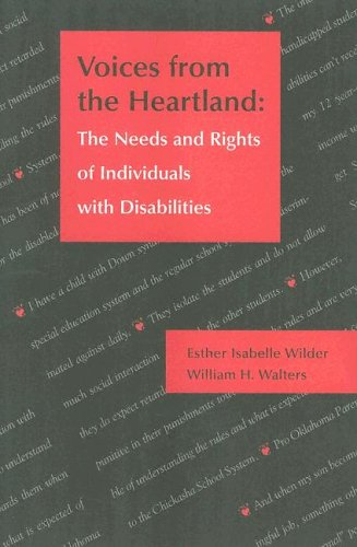 9781571290991: Voices from the Heartland: The Needs and Rights of Individuals with Disabilities