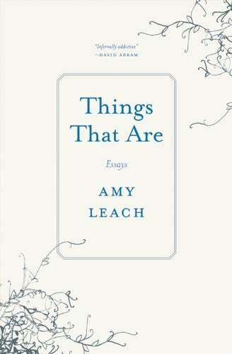 Things That Are: Essays: Leach, Amy