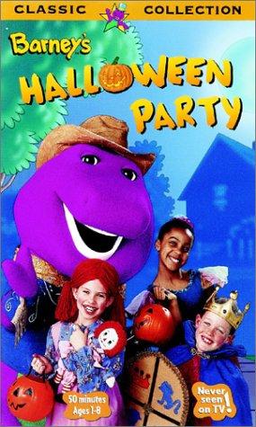 9781571321817: Barney - Barney's Halloween Party [VHS]