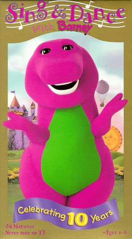 9781571323767: Sing and Dance with Barney [VHS]