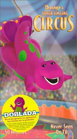 9781571325501: Barney's Super Singing Circus [VHS]