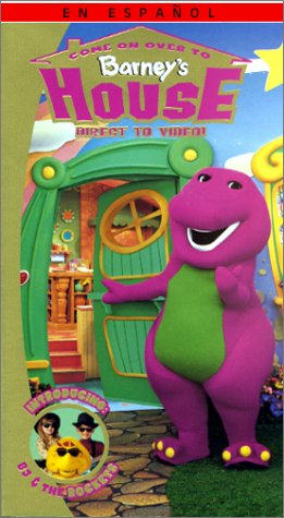 9781571325785: Barney - Come on Over to Barney's House [VHS]