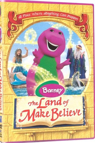9781571329592: Barney: The Land Of Make Believe