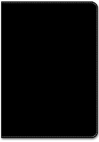 9781571331076: Leatherlook Journal - Black - Medium ( Lined one side )