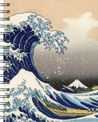 9781571331823: Silk/Hokusai Wave Journal Medium