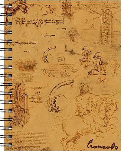9781571336453: Wire-o Journal - Da Vinci - Medium..( Lined both sides - Black wire-o )