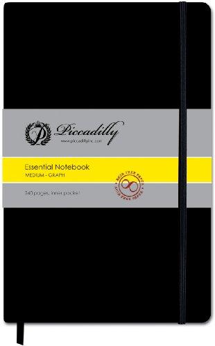 9781571338181: Essential Medium Graph Journal-Black