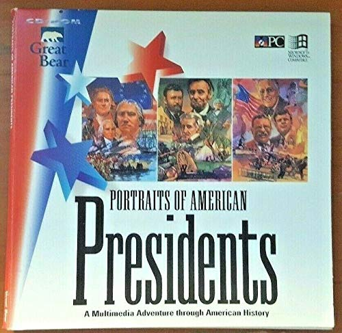 9781571440082: Portraits of American Presidents/Boxed Cd-Rom