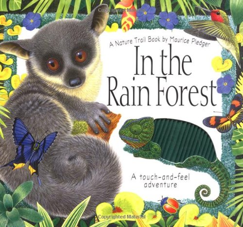 9781571453525: In the Rain Forest: A Maurice Pledger Nature Trail Book: Touch-and-Feel Adventure (Maurice Pledger Nature Trails)