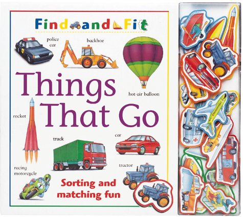 9781571453594: Things That Go (Find and Fit)